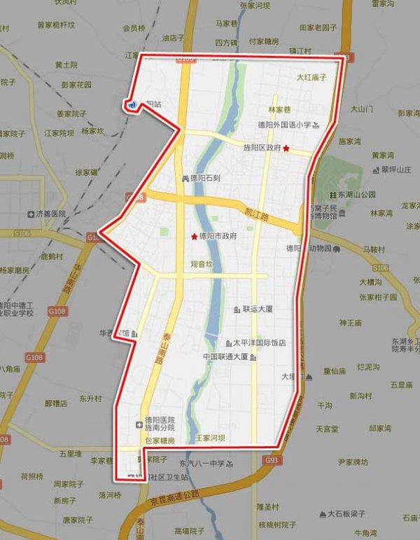 西安雁塔区地图