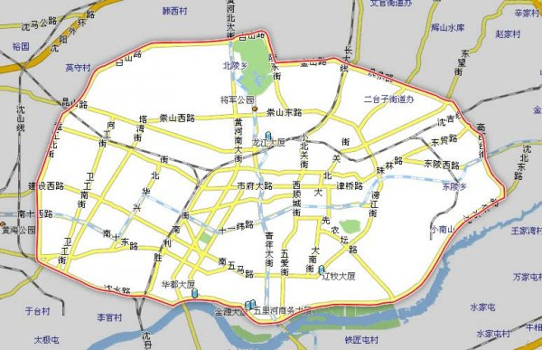查看详细地图 大连市