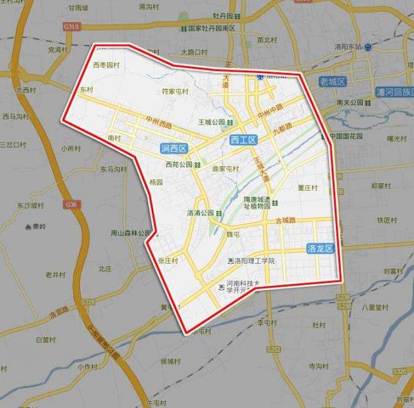 区地图:中原区学校分布图片