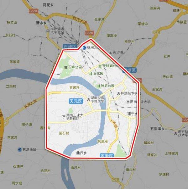 重大虎溪校区手绘地图
